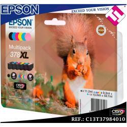 PACK TINTA EPSON 378XL SET 6 COLORES ORIGINAL CARTUCHO IMPRESORA MULTIFUNCION