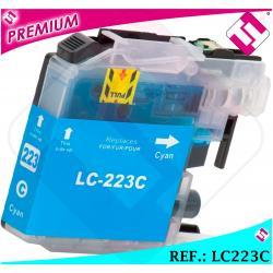 TINTA LC221 LC223C XL CIAN COMPATIBLE IMPRESORA CARTUCHO AZUL NONOEMBROTHER