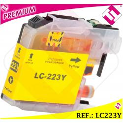 TINTA LC221 LC223Y XL AMARILLA COMPATIBLE IMPRESORA CARTUCHO AMARILLO NONOEM