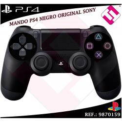 MANDO PS4 DUALSHOCK NEGRO 100% ORIGINAL PLAYSTATION 4 SONY INALAMBRICO WIFI
