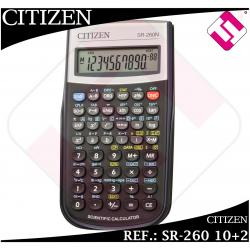 CALCULADORA TECNICA CIENTIFICA CITIZEN SR-260 10+2 COLEGIO INSTITUTO UNIVERSIDAD