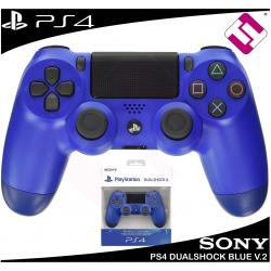 MANDO PS4 DUALSHOCK COLOR AZUL ORIGINAL PLAYSTATION 4 SONY WAVE BLUE