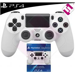 MANDO PS4 DUALSHOCK COLOR BLANCO ORIGINAL PLAYSTATION 4 SONY GLACIER WHITE
