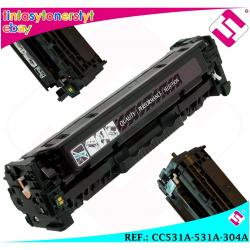 TONER CIAN CC531A 531A 304A COMPATIBLE PARA IMPRESORAS NONOEM HP NO ORIGINAL