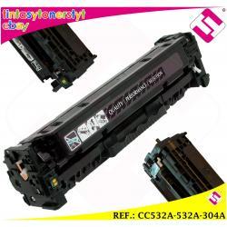 TONER AMARILLO CC532A 532A 304A COMPATIBLE PARA IMPRESORAS NONOEM HP NO ORIGINAL