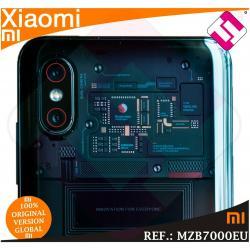TELEFONO MOVIL XIAOMI MI 8 PRO 128GB ROM 8GB RAM SMARTPHONE TITANIO TRANSPARENTE