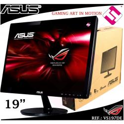 MONITOR LCD RETROILUMINACION LED 18,5 ASUS VS197DE 5MS VGA RESOLUC 1366 X 768
