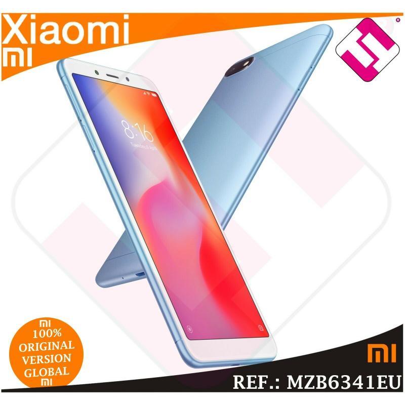 TELEFONO MOVIL XIAOMI REDMI 6A BLUE 32GB ROM 3GB RAM DUAL SIM VERSION ESPAÑOLA