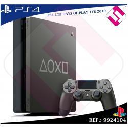 DAYS OF PLAY PS4 1TB 2019 PLAYSTATION 4 + 1 MANDO COLOR ACERO EDICION LIMITADA