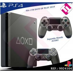 DAYS OF PLAY PS4 1TB 2019 PLAYSTATION 4 EDICION LIMITADA + SEGUNDO MANDO ACERO