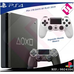 DAYS OF PLAY PS4 1TB 2019 PLAYSTATION 4 EDICION LIMITADA + SEGUNDO MANDO BLANCO