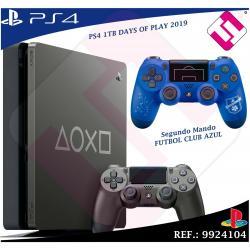 DAYS OF PLAY PS4 1TB 2019 PLAYSTATION 4 + SEGUNDO MANDO FUTBOL CLUB AZUL