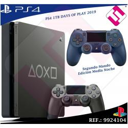DAYS OF PLAY PS4 1TB 2019 PLAYSTATION 4 + MANDO MEDIA NOCHE EDICION LIMITADA