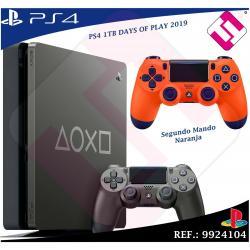 DAYS OF PLAY PS4 1TB 2019 PLAYSTATION 4 +MANDO DUALSHOK NARANJA EDICION LIMITADA