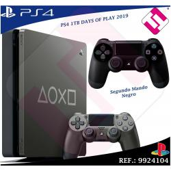 DAYS OF PLAY PS4 1TB 2019 PLAYSTATION 4 + 1 MANDO DUALSHOK COLOR NEGRO 100% SONY