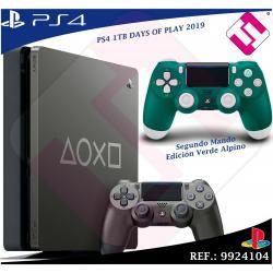DAYS OF PLAY PS4 1TB 2019 PLAYSTATION 4 + 1 MANDO DUALSHOK VERDE ALPINO DE SONY