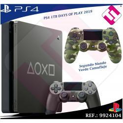 DAYS OF PLAY PS4 1TB 2019 PLAYSTATION 4 + SEGUNDO MANDO VERDE CAMUFLAJE MILITAR