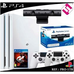 PS4 PLAYSTATION 4 PRO 1TB BLANCA + 2 MANDOS BLANCOS SONY + CAMARA VR ORIGINAL
