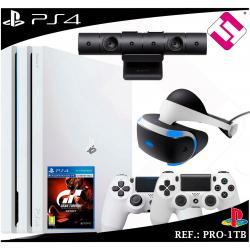 PS4 PLAYSTATION 4 PRO 1TB BLANCA MANDOS + CAMARA VR ORIGINAL + GAFAS VIRTUALES