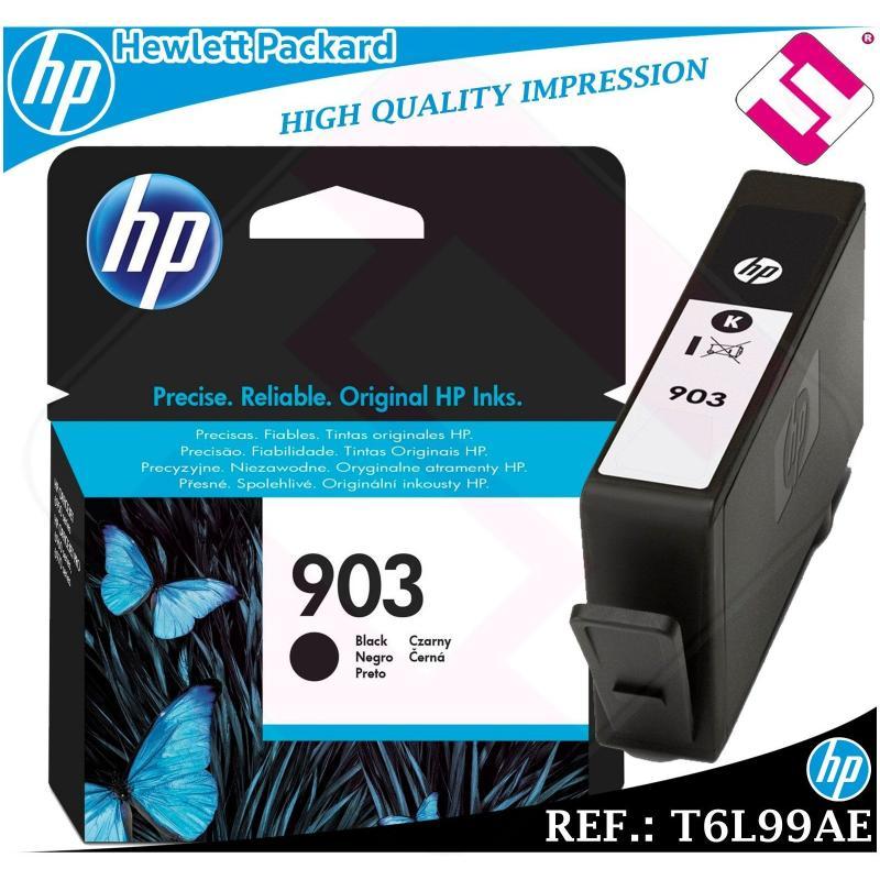 TINTA NEGRA 903 ORIGINAL IMPRESORAS HP CARTUCHO NEGRO HEWLETT PACKARD T6L99AE