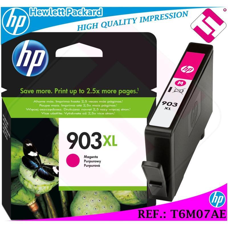 TINTA MAGENTA 903XL ORIGINAL IMPRESORAS HP CARTUCHO HEWLETT PACKARD T6M07AE