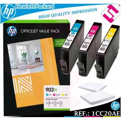 PACK TINTA 903XL ORIGINAL IMPRESORAS HP CARTUCHO HEWLETT PACKARD GENUINE 1CC20AE