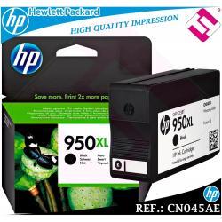 TINTA NEGRA 950XL ORIGINAL IMPRESORAS HP CARTUCHO NEGRO HEWLETT PACKARD CN045AE