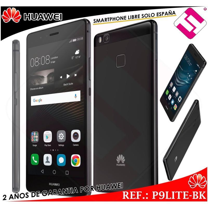 HUAWEI P9 LITE 5,2 NEGRO 16GB 3GB 13MP 4G OCTA CORE DUAL SIM LIBRE DESBLOQUEADO