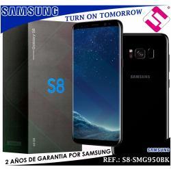 TELEFONO SMARTPHONE SAMSUNG S8 SM G950BK NEGRO 5,8 64GB ROM 4GB RAM OCTA CORE 4G