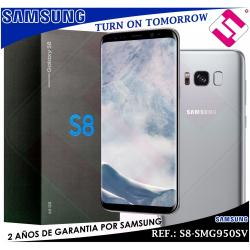 TELEFONO SMARTPHONE SAMSUNG S8 G950SV PLATEADO ARTICO 5,8 64GB 4GB OCTA CORE 4G