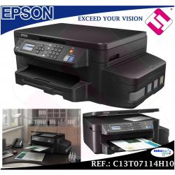 MULTIFUNCION EPSON INYECCION COLOR ECOTANK ET3600 IMPRESORA A4 ESCANER USB WIFI