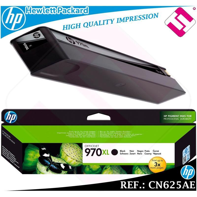 TINTA NEGRA 970XL ORIGINAL IMPRESORAS HP CARTUCHO NEGRO HEWLETT PACKARD CN625AE