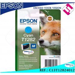 TINTA CIAN T1282 1282 ORIGINAL PARA IMPRESORAS EPSON CARTUCHO CYAN GENUINE