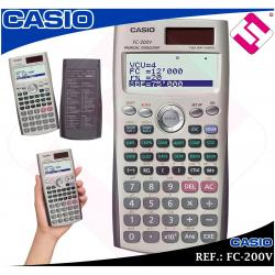 CALCULADORA FINANCIERA CASIO FC200V UNIVERSIDAD TECNICA CIENTIFICA ORIGINAL