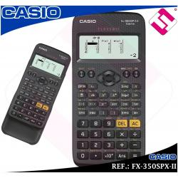 CALCULADORA CASIO TECNICA CIENTIFICA FX-350SPX-II RECOMENDADA PROFES (ORIGINAL)