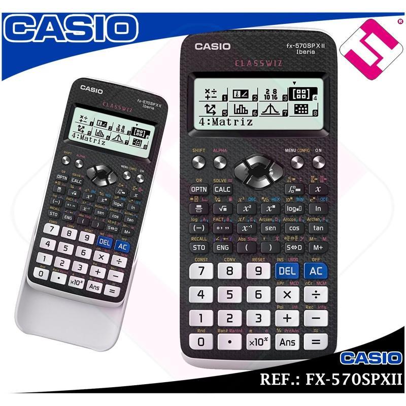 CALCULADORA FINANCIERA CASIO FX-570SPXII UNIVERSIDAD TECNICA CIENTIFICA ORIGINAL