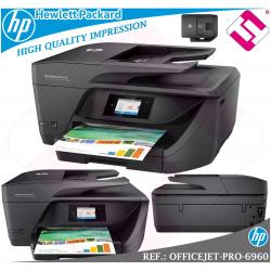 MULTIFUNCION HP INYECCION COLOR OFFICEJET PRO 6960 FAX WIFI DUPLEX ADF PENINSULA
