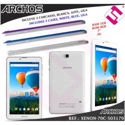 "TABLET SMARTPHONE TELEFONO MOVIL ARCHOS PANTALLA 7"" IPS 8GB 1,3GHZ 1GB RAM 3G"