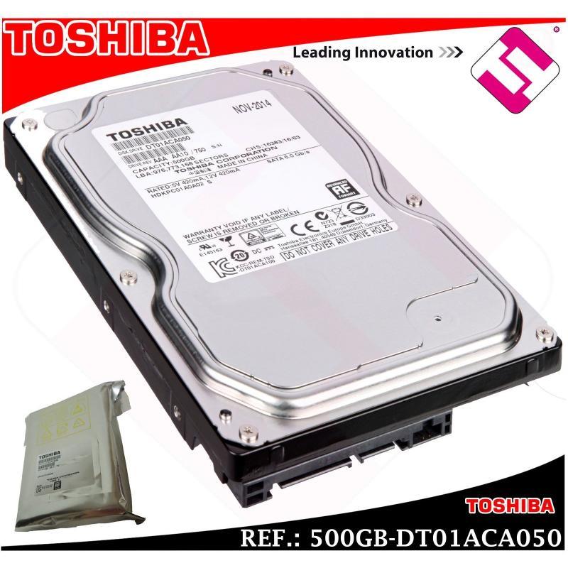 DISCO DURO TOSHIBA 500GB 3.5 SERIAL ATA 3 INTERNO 7200 RPM DT01ACA050 500 GB