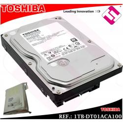 DISCO DURO TOSHIBA 1TB 3.5 SERIAL ATA 3 INTERNO 7200 RPM DT01ACA100 1000GB 1 TB