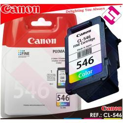 TINTA CANON CL 546 COLOR ORIGINAL CARTUCHO TRICOLOR IMPRESORA CL-546 ECONOMICO