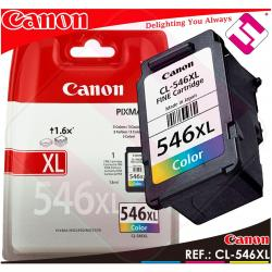 TINTA CANON CL 546 XL COLOR ORIGINAL CARTUCHO TRICOLOR IMPRESORA CL-546XL AHORRO