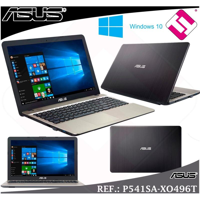 "PORTATIL ASUS P541SA-XO496T INTEL N3060 15.6"" WINDOWS 10 4GB DDR3 HDD 500GB +LPI"