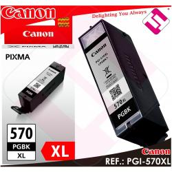 TINTA NEGRA CANON PGI-570XL ORIGINAL CARTUCHO NEGRO IMPRESORA PGI-570PGBK XL