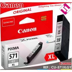 TINTA GRIS CANON CLI-571GY XL ORIGINAL CARTUCHO GRAY IMPRESORA CLI-571XLGY