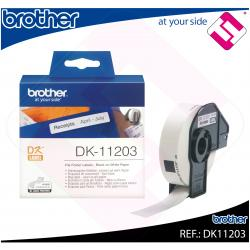 BROTHER ETIQUETA PRECORTADA PAPEL 17X87MM 300 ETIQUETAS