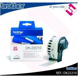 BROTHER CINTA CONTINUA BLANCA PAPEL 29MM 30.48M QL-/500/550/