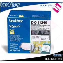 BROTHER ETIQUETA PRECORTADA PAPEL 102X51MM 600 ETIQUETAS QL-