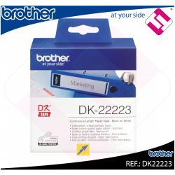 BROTHER CINTA CONTINUA BLANCA PAPEL 50MM 30.48M