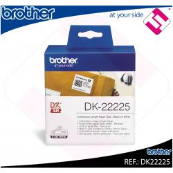 BROTHER CINTA CONTINUA BLANCA PAPEL 38MM 30.48M